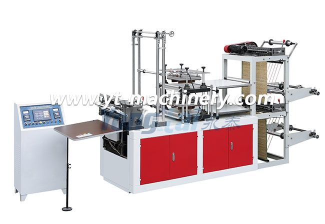 Double Layers Plastic Glove Making Machine