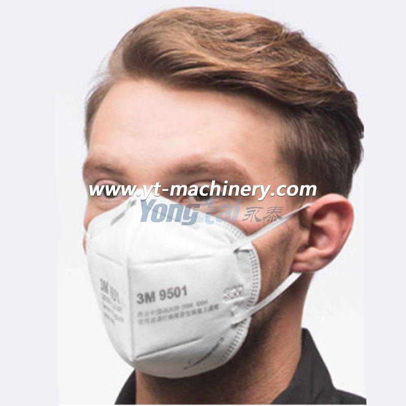 Fully Automatic Fold Mask Making Machine