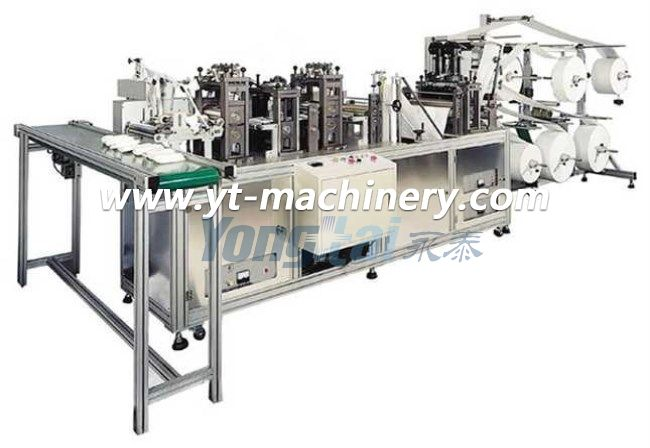 Fully Automatic Fold Mask Making Machine