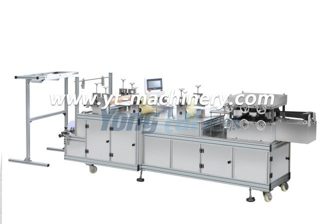 Pe/Non Woven Cap Making Machine With Plc System