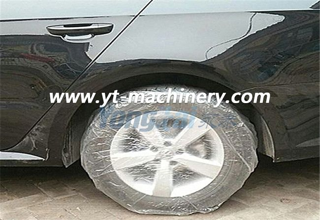Disposable Car Wheel Tyre Cover Making Machine